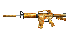 M4A1-S-Yellow Crystal