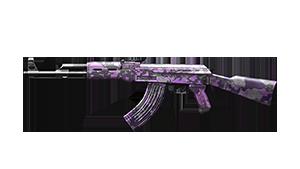 AK-47-Camo Roxa
