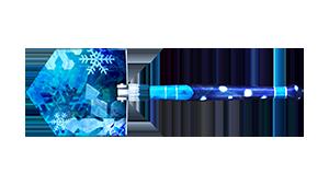 Field Shovel-Blue Aura